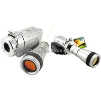 Digital Video Camcorder With Optical Telescope Zoom Lens