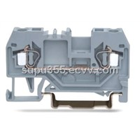 DIN Rail Terminal Blocks with Spring Cage Clamp