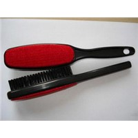 Double-sided Lint Brush - Made of ABS, Measuring 24 x 4.5cm