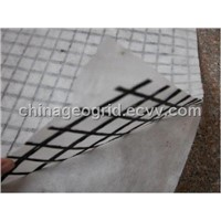 Fiberglass Geogrid Composite Geotextile