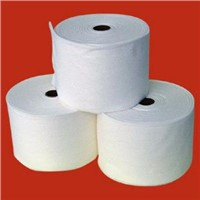 Nonwoven counting towel roll of spunlace nonwoven