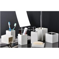 PVC Bathroom Set 3pcs/4pcs/5pcs/6pcs/7pcs+Free Custom Logo+New Design+Fashion+Elegant+Many Colors Ar