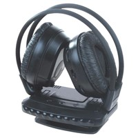QQ2008 TV Wireless Headphone with FM Radio for MP3 PC TV Cd/Wireless Headset with Microphone