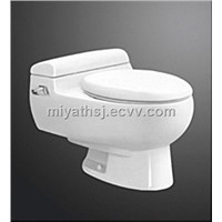 Siphonic one piece toilet (s-trap:300mm roughing in)