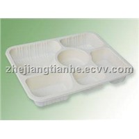 THH-24 Biodegradable Six Coms Container
