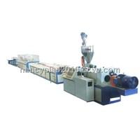 Wood Plastic Composite Decking Plate Production Line