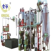 complete set process 20ton wheat flour mill machine