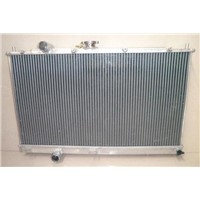 for CHEV auto and manual high performance all aluminum racing car radiator