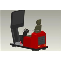 forklift truck and wheel loader training simulators