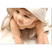 Organic natural color cotton Baby Blanket