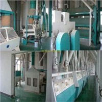 Process Wheat 80ton/24h Wheat Flour Mill Mahcine