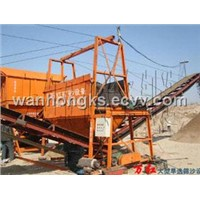 sand sieving machine