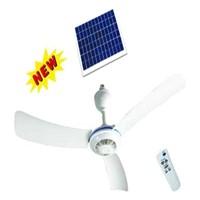 solar ceiling fan