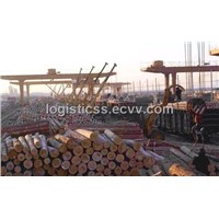 timber logistics service in china