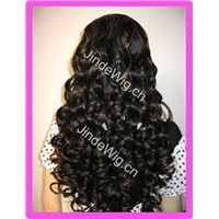 Long Curly Full Lace Wigs