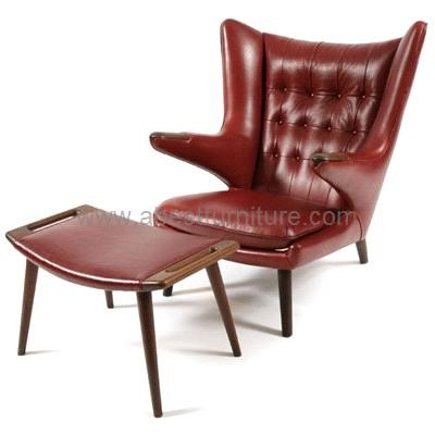 replica modern classic furniture hans wegner papa bear chair j245