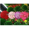 Artificial Silk Kissing Roses Flower Ball for Wedding Christmas Festival Decoration