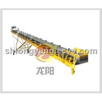 Shanghai LY Belt Conveyor Steel Rollers / Rubber Conveyor Belt