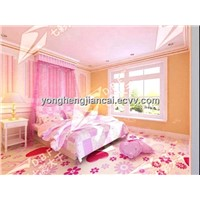 colorful soft waterproof home decorative pvc flooring
