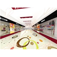 colorful soft customized commercial plastic pvc flooring