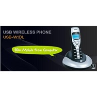 1.	USB VoIP Phone > USB-W1DL