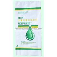 20 kg of white PP fertilizer bag