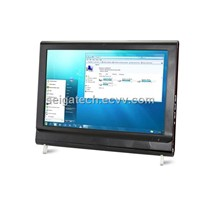 21.6inch Touch Screen All in One Computer TV with Intel Atom D525 Dual Core 1.8GHz WiFi Webcam