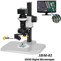 2D/3D Video Microscope with USB Output