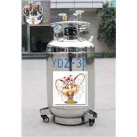 30L Self-Pressurizing Liquid Nitrogen Cylinder