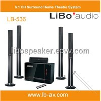 5.1 CH Tower Home Theatre System LB-536HT