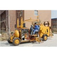 Big Size Sitting Type Thermoplastic Spraying Road Marking Machine