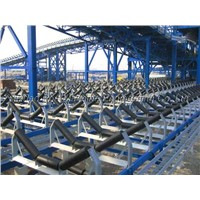 Conveyor idler roller sets