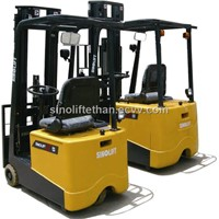 Electric Counterbalanced Forklift Truck