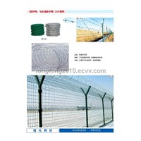 Fencing net-fencing for airport(barbed wire/concertina razor wire)