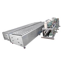 Ice Block Machine with Freon System