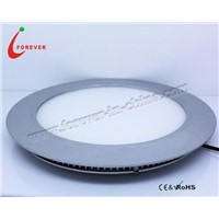 LED Round Panel Light with Energy-saving and Low Heat Features, No UV/IR Radiation and Mercury