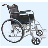 Leather Low-Back Spray Wheelchair