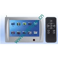 Multi-room music system touch screen controller (HOPE5BGMA888)