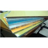 New lightweight construction Materials - Aluminum Honeycomb Curtain Walls Panels
