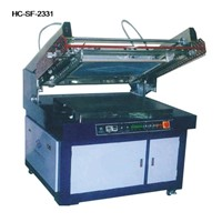 semi automatic Plane Screen Printer
