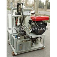 Truck Mounted Airless Cold Paint Road Marking Machine