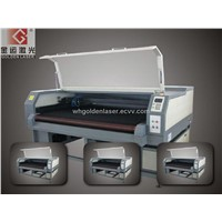 Two Head Laser Cutter Machine for Automobile Cow Leather Pillowslip