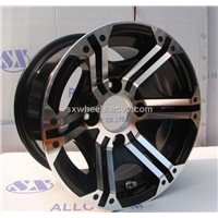 AR12-05B Yamaha/polaris 250 cc  ATV alloy wheel