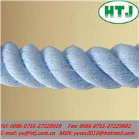 blue twist rope, cotton rope