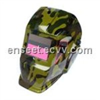 Industrial Solar-Powered Auto-Darkening Welding Helmet