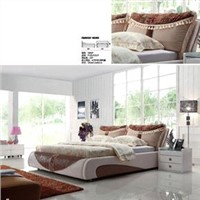 bed, sofa bed, leather bed, soft bed, bedding  (2692)