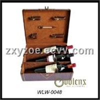 three bottle wine set