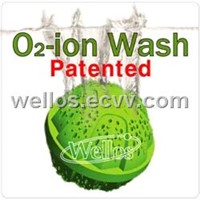 Patented Eco Wash Ball (O2-ion Wash)