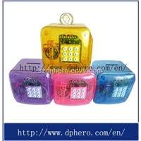 Mini Safety Plastic Saving Box for Good Quality (HR-305)