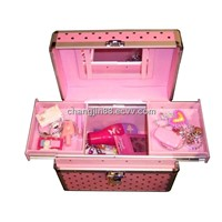 2011  Cosmetic Case/Box aluminum case/Box dressing case beauty cosmetic case make-up case